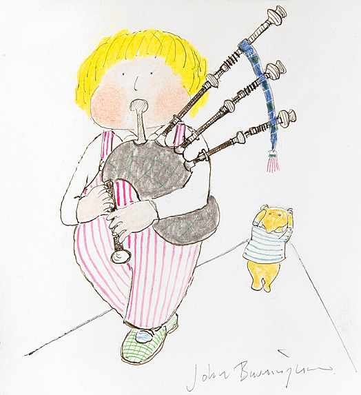 But When I Play My Bagpipes,