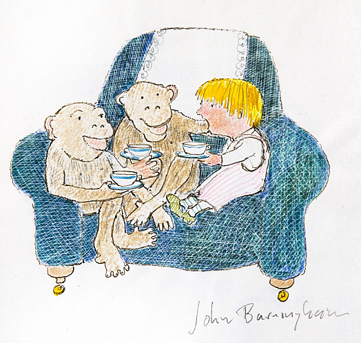 When Monkey Come to Visit Me