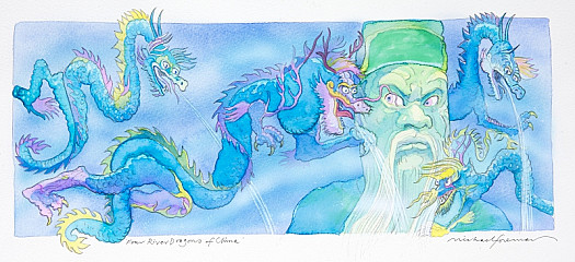 'How Dare You Make Rain Without My Permission!' He Raged When the Dragons Were Brought Before Him. 'You Have Disobeyed Me For the Last Time.'