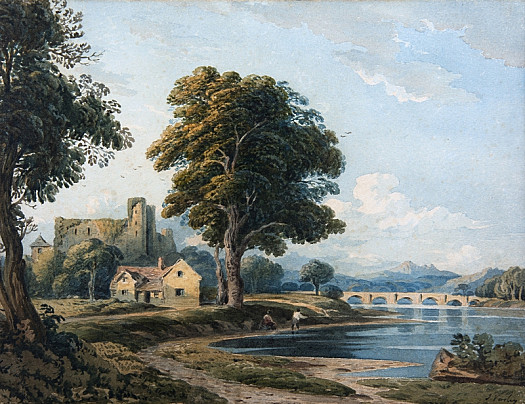 A View On the Usk
