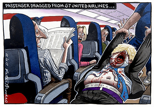 Passenger Dragged from G7 United Airlines...