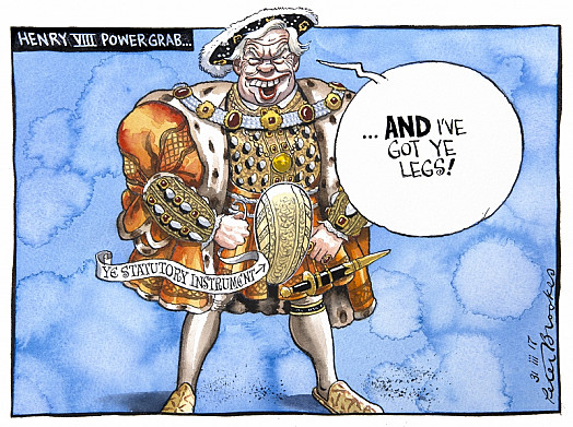 Henry Viii Power Grab...