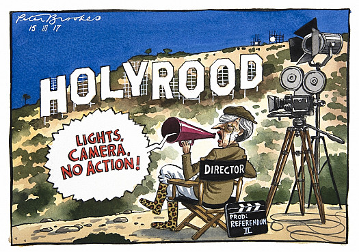 Lights, Camera, No Action!