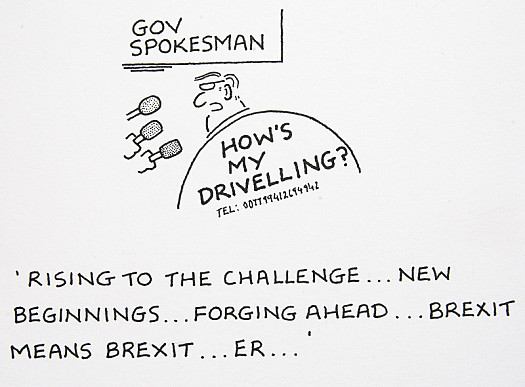 Rising to the Challenge... New Beginnings... Forging Ahead... Brexit