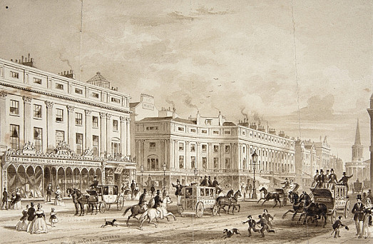 Regent's Circus, Oxford Street, London