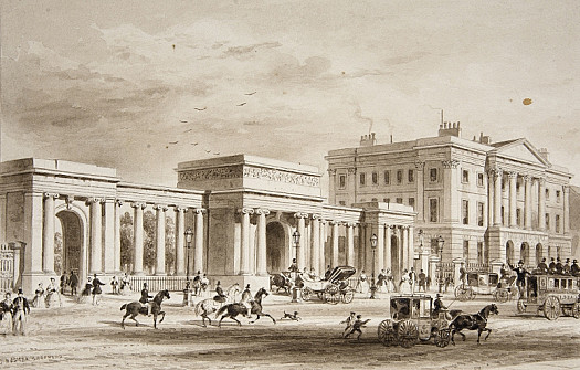 Apsley House & Entrance to Hyde Park, Piccadilly