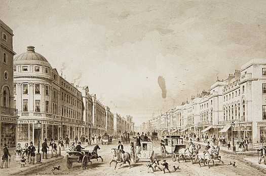Regent Street, from the Quadrant, Looking North