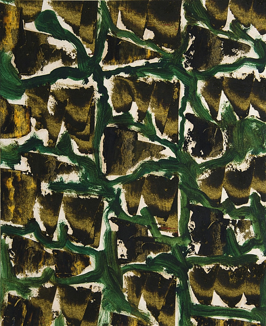 Textile Design: Mountain Landscape