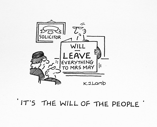 It's the Will of the People