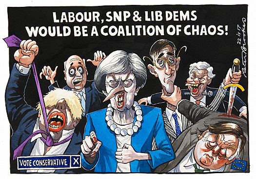 Labour, Snp & Lib Dems Would Be a Coalition of Chaos!
