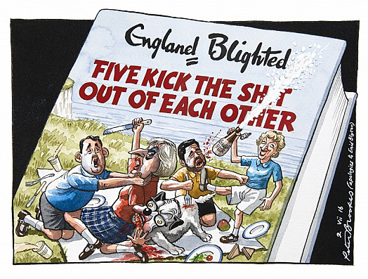 England BlightedFive Kick the Sh*T Out of Each Other
