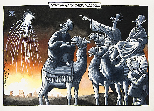 Yonder Star over Aleppo...