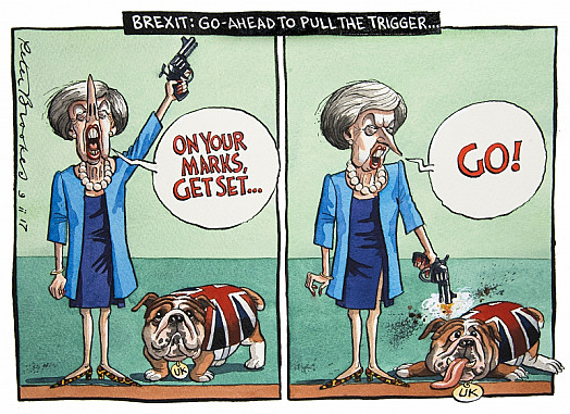 Brexit: Go-Ahead to Pull the Trigger...
