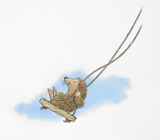 I Don't Think I Know Anyone Who Likes a Swing More than the Hedgehog. It Must Feel a Bit Like Flying
