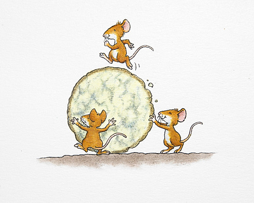 Percy's Friends the Mice
