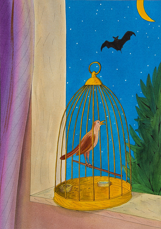 The Caged Bird and the Bat