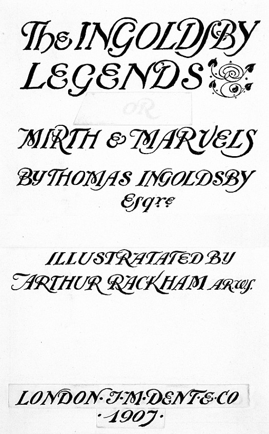 Frontispiece to the 1907 Second Edition of the Ingoldsby Legends