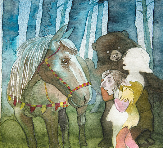 So Jack Said Goodbye to the Mare and the Bear and He Set Off