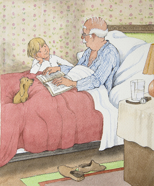 That Night Charley Jumped On the Bed with Grampa