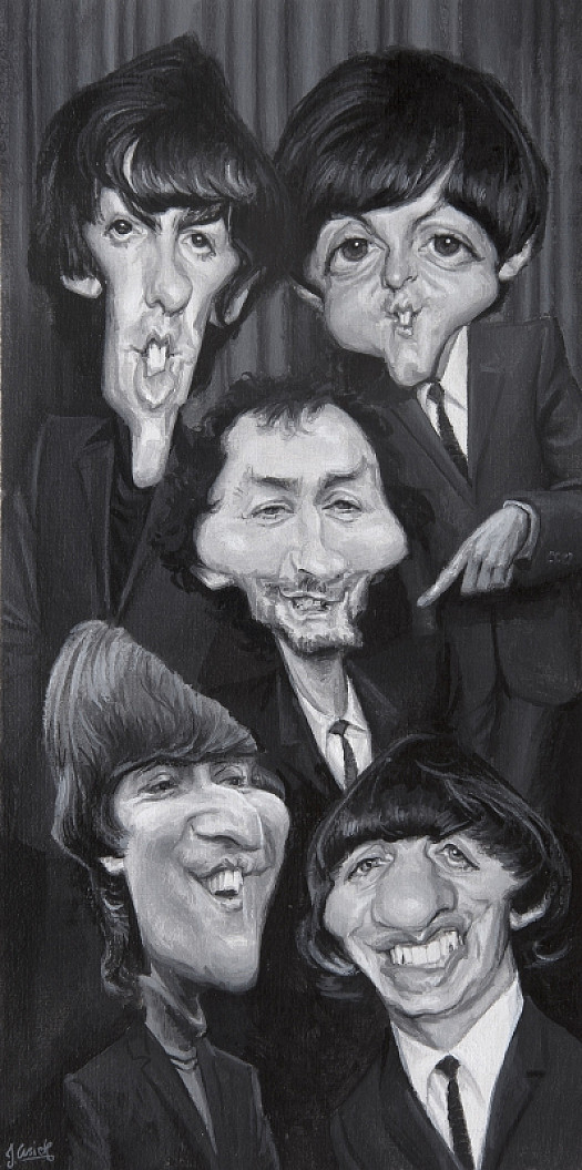 When Kenny Met the Fab Four