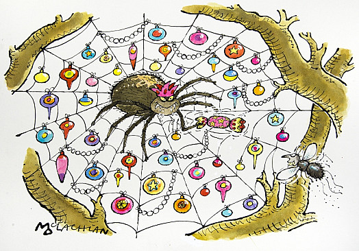 A Spidery Christmas