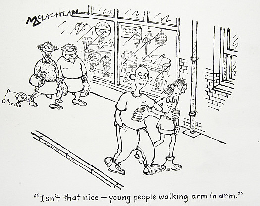 Isn't That Nice – Young People Walking Arm In Arm