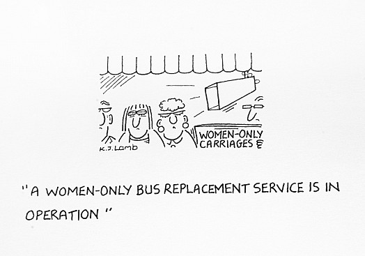 A Women-only Bus Replacement Service Is In Operation