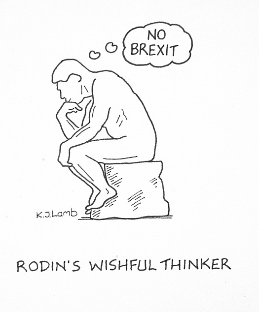 Rodin's Wishful Thinker