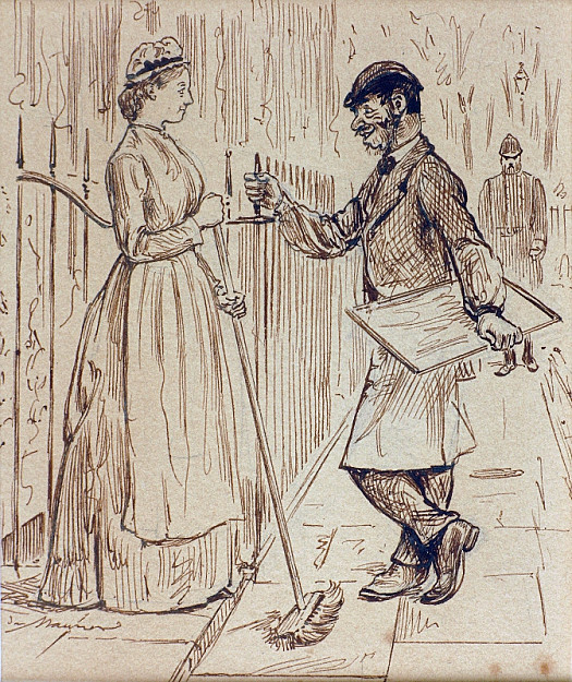 'None but the Brave Deserve the Fair'Bill Nupkins (After Describing the 'March Past' of His Regiment At the Portsmouth Review): 'Ah, We Was a Pretty Sight, Mary, I Can Tell Yer!'