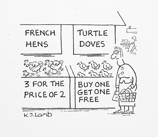 French Hens 3 For the Price of 2