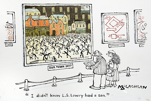 I Didn't Know L S Lowry Had a Son