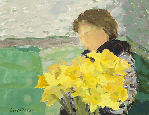 Figure and Flowers