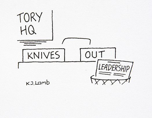 Tory Hq: Knives Out