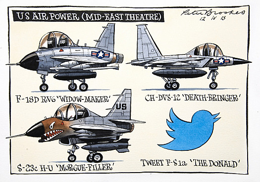 Us Air Power (Mid-East Theatre)