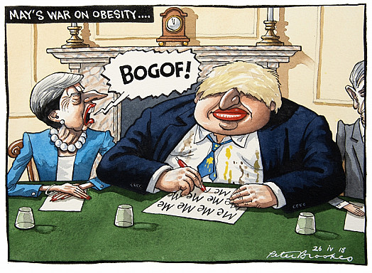 May's War On Obesity...
