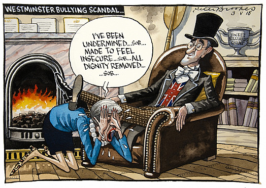 Westminster Bullying Scandal...
