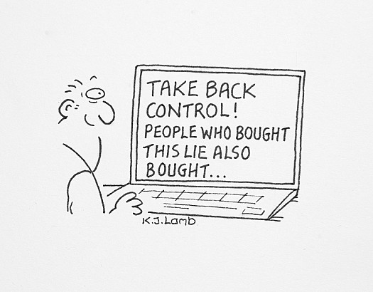 Take Back Control! People Who Bought this Lie also Bought...