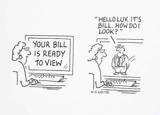 Your Bill Is Ready to View