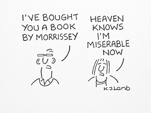 I've Bought You a Book by Morrissey
