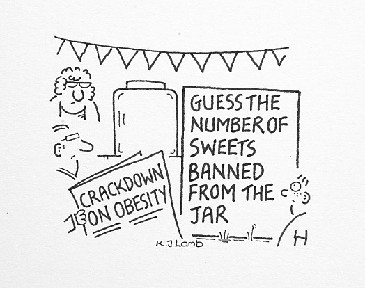 Guess the Number of Sweets Banned from the Jar