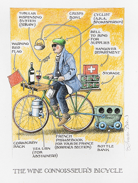 The Wine Connoisseur's Bicycle