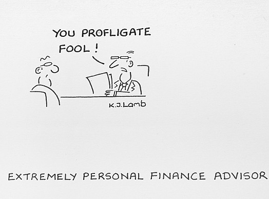 Extremely Personal Finance Advisor