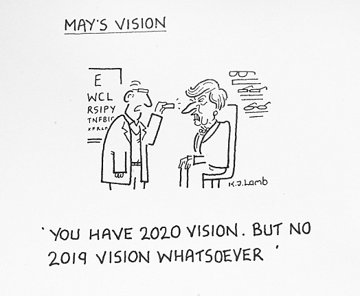 You Have 2020 Vision. but No 2019 Vision Whatsoever