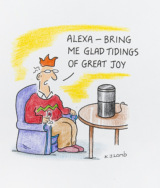 Alexa - Bring Me Glad Tidings of Great Joy