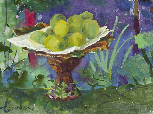 Matisse and Green Plums