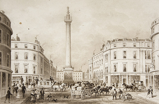 The Monument, Fish St Hill