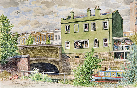 The Narrow Boat Inn On the Grand Junction Canal Islington