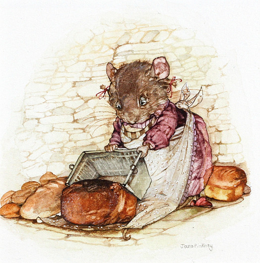 In Mouse Nibbling It's Always Said: