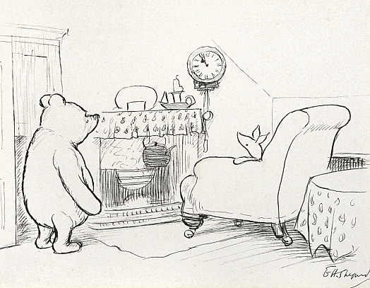 'Nearly Eleven O'clock', Said Pooh Happily