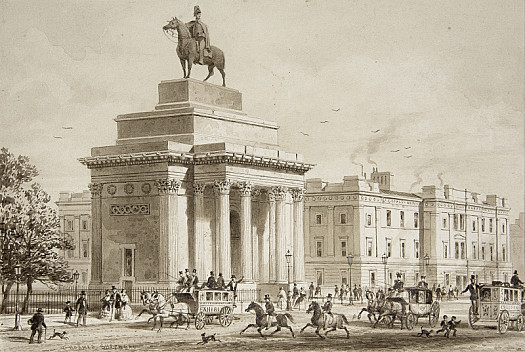 Triumphal Arch & Duke of Wellington's Statue, Constitutional Hill